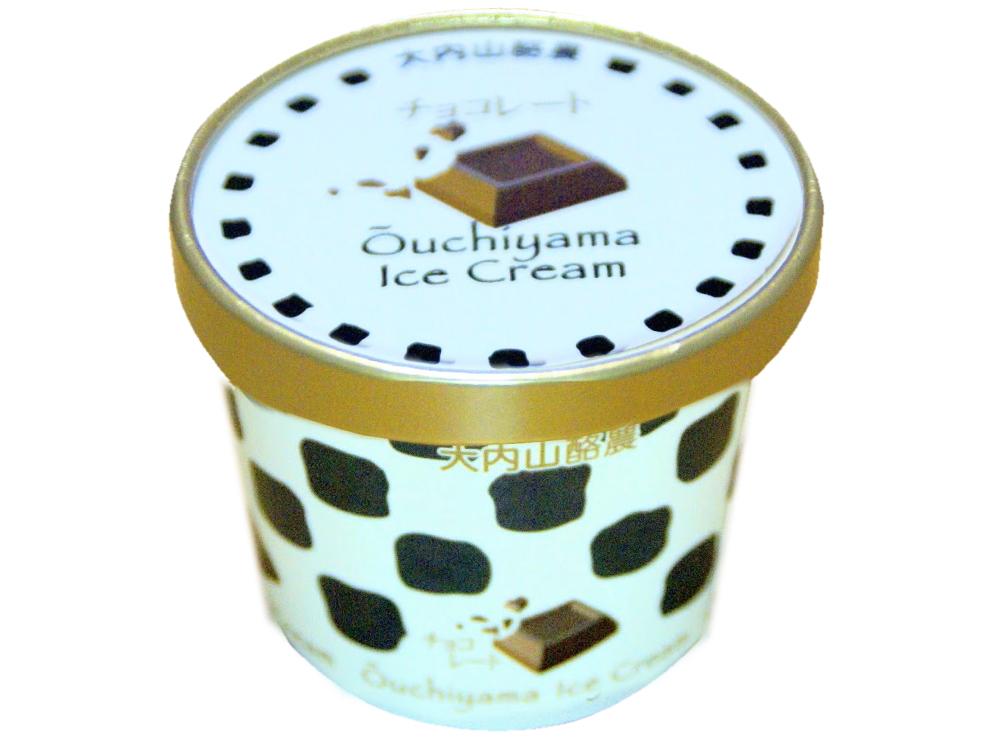 大内山アイス・チョコレート