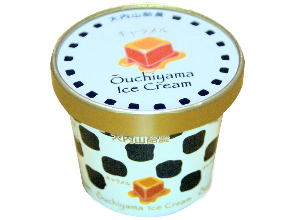 大内山アイスクリームキャラメル